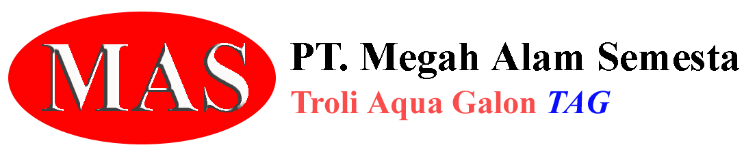 troli aqua galon, troli air galon, troli angkut galon ke lantai 2