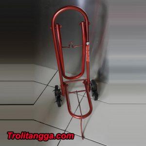 Troli Aqua Galon Lipat Merah Metalik TAG