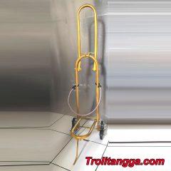 Troli Aqua Galon Lipat Kuning Metalik TAG