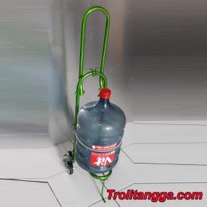 Troli Aqua Galon Lipat Hijau Metalik TAG