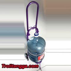 Troli Aqua Galon Lipat Ungu Metalik TAG