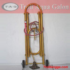 Troli Aqua Galon 2 Roda Kuning Metalik TAG